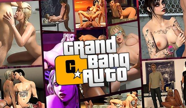 Gangster Sex Spiel mit ficken in 3D Welt