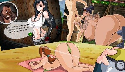 Spielen sexy Manga Fick Spiele mit 2D porn