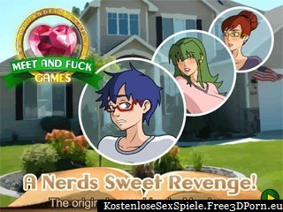 A Nerds Sweet Revenge mit jungen Sex Cartoons
