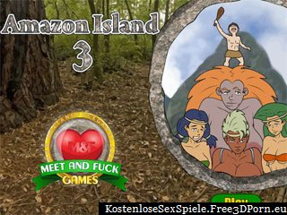Amazon Island 3 exotischen Porno Spiel mit Strand ficken