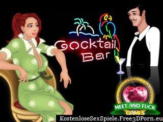 Fick sexy Mädchen in einer Cocktail Bar Browserspiele