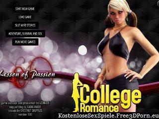 College-Romanze mit Studenten Sex und Wohnheim ficken