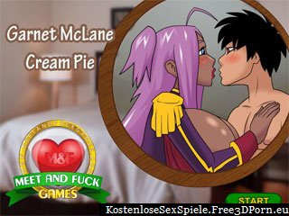 Garnet Cream Pie im Cartoon Sex Spiel