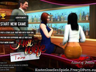 Heiße Frau Tara in RPG Sex Spiel mit Porno