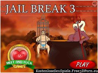 Jail Break 3 Fetisch Porno Spiel mit Gefängnis Sex