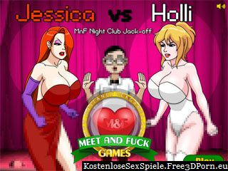 Jessica vs Holli Meet and Fuck erotische Flash Spiele
