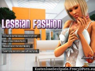lesbische Mode mit sexy Lesben und xxx Modelle