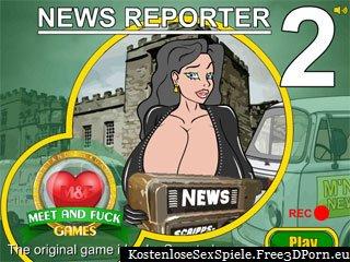 Nachrichtenreporter Erwachsenen Online Sex Spiel