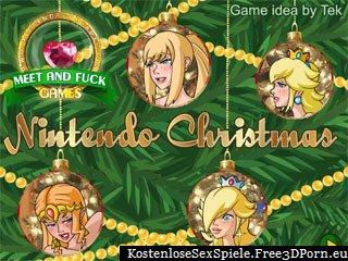 Nintendo Weihnachts lesbischen Sex Spiel