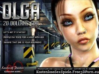 Olga 20 Dollar Mädchen als billige Nutte Schlampe