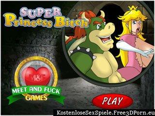 Super sexy Prinzessin liebt es zu ficken Super Mario