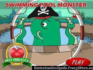 Pool Hentai Monster Tentakel verdammtes Spiel