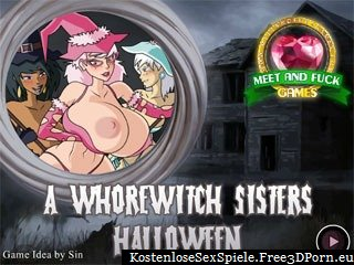 Flash Porno Spiel - Whorewitch Sisters Halloween