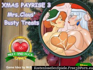Weihnachten Lohnerhöhung Sex Spiel mit Elfen